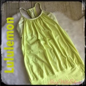 Lululemon No Limits Tank in Clarity Yellow/Polar